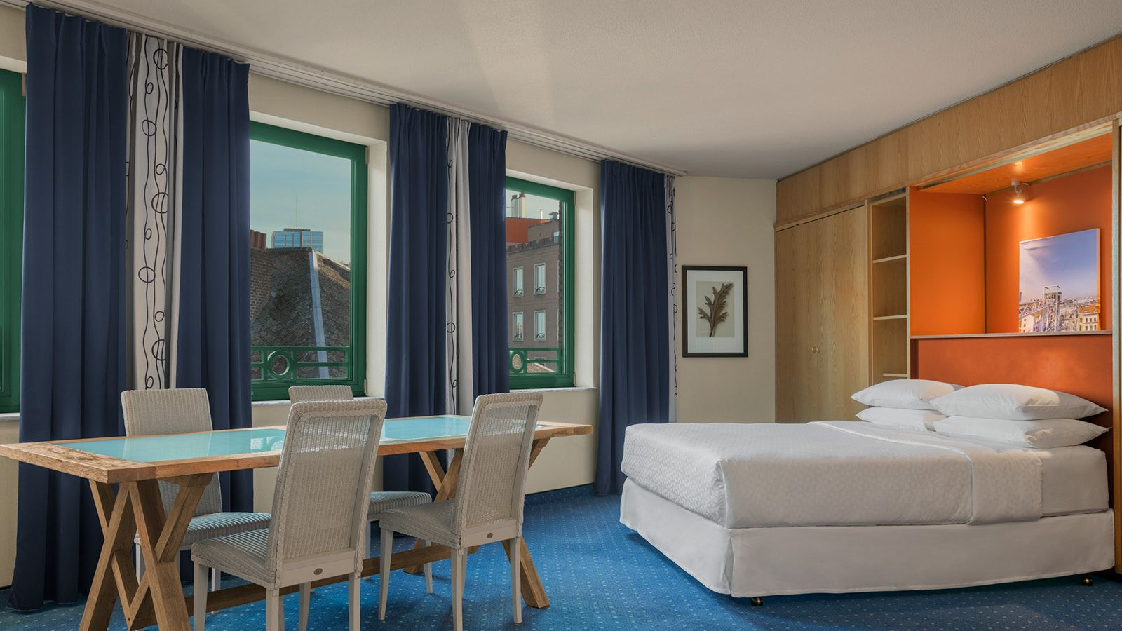 Deluxe Kamer Four Points by Sheraton Brussels