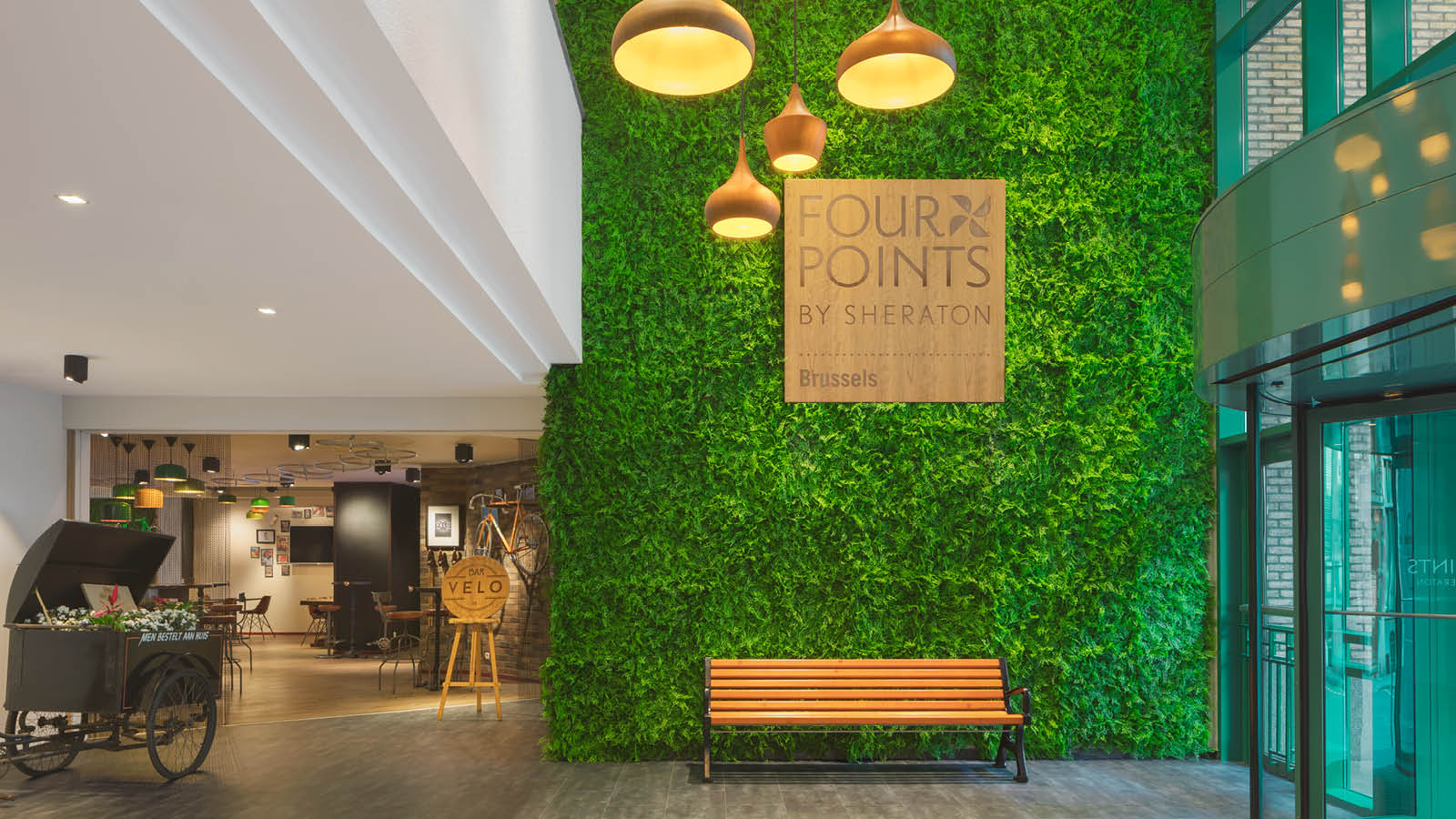 Lobby | Four Points by Sheraton Brussels