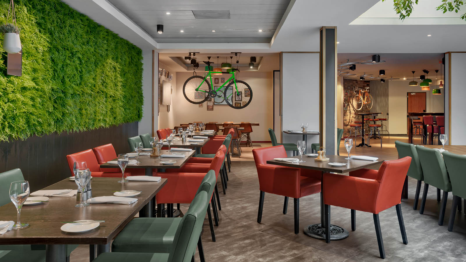 Root Market restaurant in Four Points by Sheraton Brussels