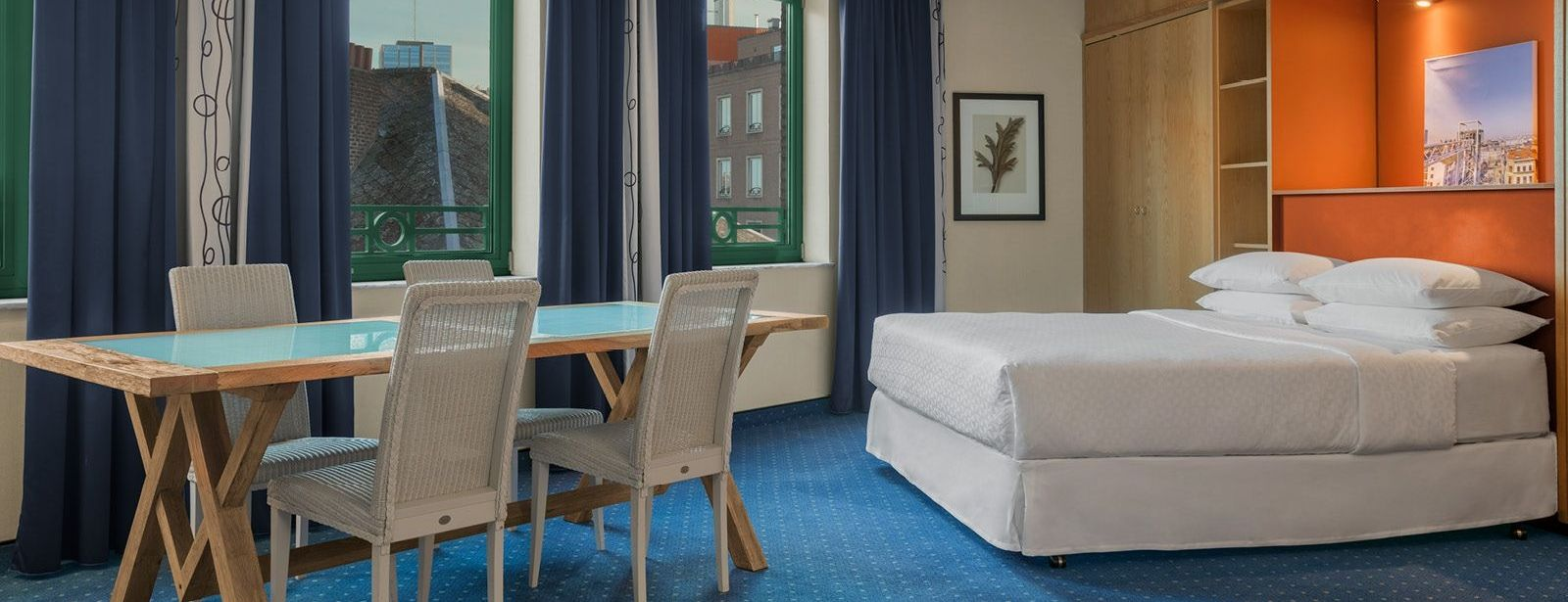 Deluxe Room Four Points by Sheraton Brussels
